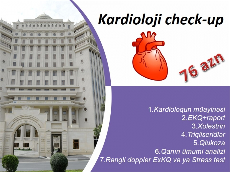 Kardioloji check-up