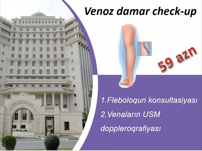 Venoz damar check-up